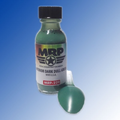 MRP-229 WWII US Interior Dark Dull Green 30ml