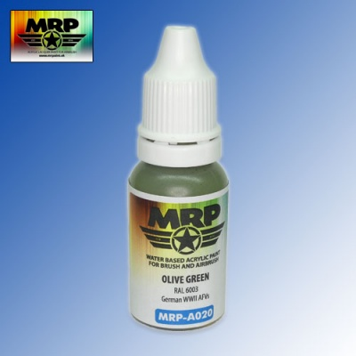 MRP-A020 Olive Green RAL6003 AQUA 17ml