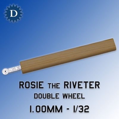 Rosie the Riveter 1.00mm Double Wheel (1/32) Dousek