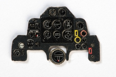 Defiant Mk.I/II Coloured Photoetch Instrument Panels - ''JustStick'' Ready to fit (designed for Airfix kits) 1:72 Yahu Models