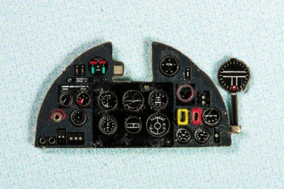 Hurricane II Coloured Photoetch Instrument Panels - ''JustStick'' Ready to fit (designed for Revell / Airfix kits) 1:72 Yahu Models