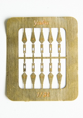Luftwaffe Latches Photoetch Accessory Set 1:32 Yahu Models