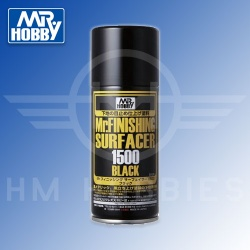 Mr Finishing Surfacer 1500 Black Spray 170ml