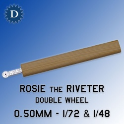 Rosie the Riveter 0.50mm Double Wheel (1/72 & 1/48) Dousek