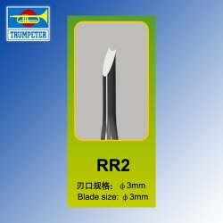 RR2 Model Chisel Trumpeter Tools