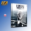 USN Legendary Jets Aircraft Scale Modelling Guide AK Interactive