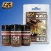 Crusted Rust Deposits Weathering Set AK Interactive