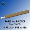 Rosie the Riveter 0.75mm Single Wheel (1/48 & 1/32) Dousek