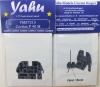 P-40M Coloured Photoetch Instrument Panels - ''JustStick'' Ready to fit (designed for Academy kits) 1:72 Yahu Models