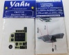 Blenheim Mk.I Coloured Photoetch Instrument Panels - ''JustStick'' Ready to fit (designed for Airfix kits) 1:72 Yahu Models