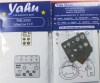 Albatros D.V Coloured Photoetch Instrument Panels (designed for Wingnut Wings kits) 1:32 Yahu Models