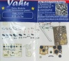 SE-5 / SE-5a Coloured Photoetch Instrument Panels (designed for Wingnut Wings kits) 1:32 Yahu Models