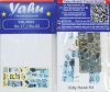 Su-17 / Su-22 Coloured Photoetch Instrument Panels (designed for KittyHawk/Hobby Boss/KP-Smer-Eduard kits) 1:48 Yahu Models