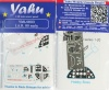 I.A.R. 80 Early Coloured Photoetch Instrument Panels (designed for Hobby Boss/LTD/Icarodesign kits) 1:48 Yahu Models