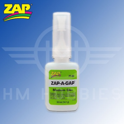 Zap-a Gap Cyanoacrylate Glue (CA) 14g Bottle