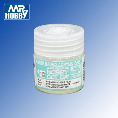 H-103 Premium Clear Flat Aqueous Hobby Colour 10ml