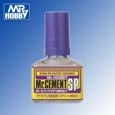 Mr Cement SP - strong and fast thin liquid glue for plastic 40ml