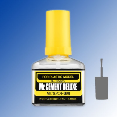Mr Cement Deluxe - liquid glue for plastic 40ml