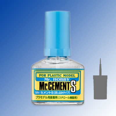 Mr Cement S - thin liquid glue for plastic 40ml
