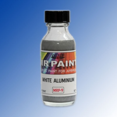 MRP-009 White Aluminium Metallic 30ml