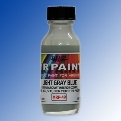 MRP-049 Light Gray Blue (modern Russian interior colour) 30ml