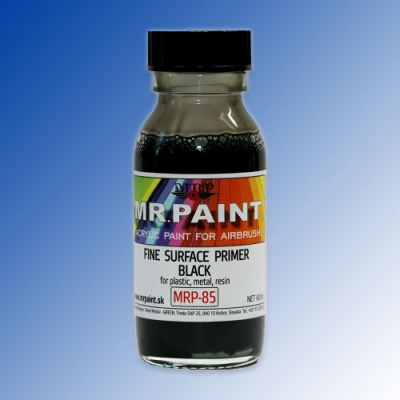MRP-085 Fine Surface Primer Black 60ml