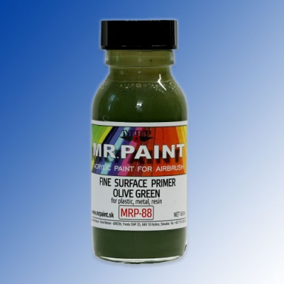 MRP-088 Fine Surface Primer Olive Green 60ml