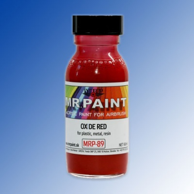 MRP-089 Fine Surface Primer Oxide Red 60ml