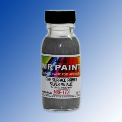 MRP-170 Fine Surface Primer Silver Metallic 60ml