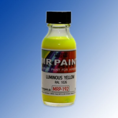 MRP-192 Luminous Yellow RAL1026 30ml