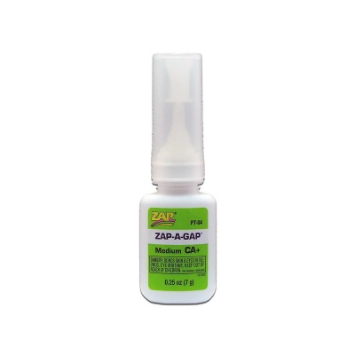 Zap-a Gap Medium CA+ (Cyanoacrylate Glue) 7g Bottle