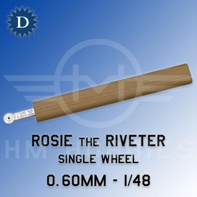 Rosie the Riveter 0.60mm Single Wheel (1/48) Dousek
