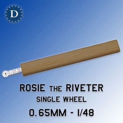 Rosie the Riveter 0.65mm Single Wheel (1/48) Dousek