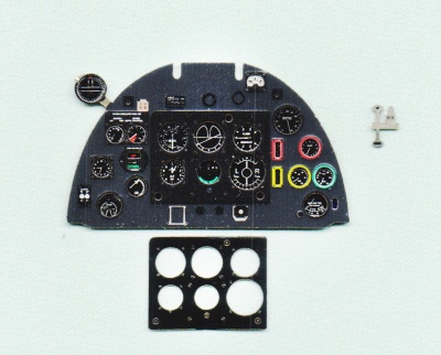 Spitfire Mk II Coloured Photoetch Instrument Panels - ''JustStick'' Ready to fit (designed for Revell kits) 1:32 Yahu Models