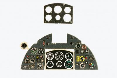 Instrument Panel YAHU YMA7241-1:72 MC.205