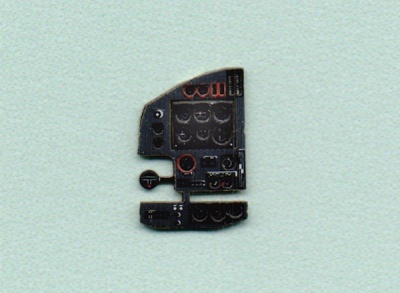 Blenheim Mk.IV Coloured Photoetch Instrument Panels - ''JustStick'' Ready to fit (designed for MPM kits) 1:72 Yahu Models