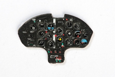 MiG-15 Coloured Photoetch Instrument Panels - ''JustStick'' Ready to fit (designed for Eduard / KP  kits) 1:72 Yahu Models