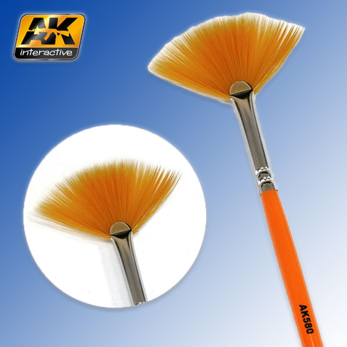 Weathering Brush Fan Shape AK Interactive