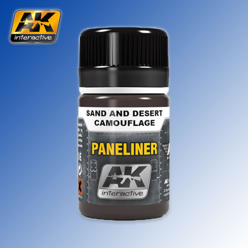 Paneliner for Sand and Desert Camouflage Air Series 35ml AK Interactive