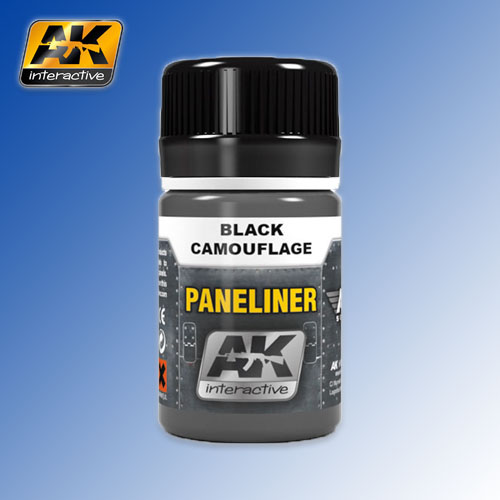 Paneliner for Black Camouflage Air Series 35ml AK Interactive