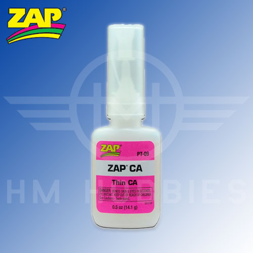 Zap-a Gap Thin Cyanoacrylate Glue (CA) 14g Bottle