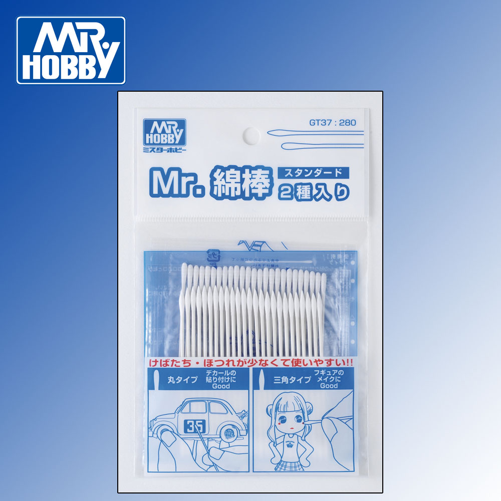 Mr Cotton Swab Set Standard (2x 25pcs)