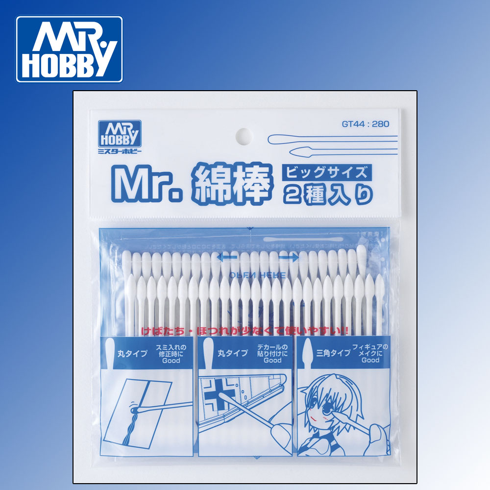 Mr Cotton Swab Set Big (2x 25pcs)