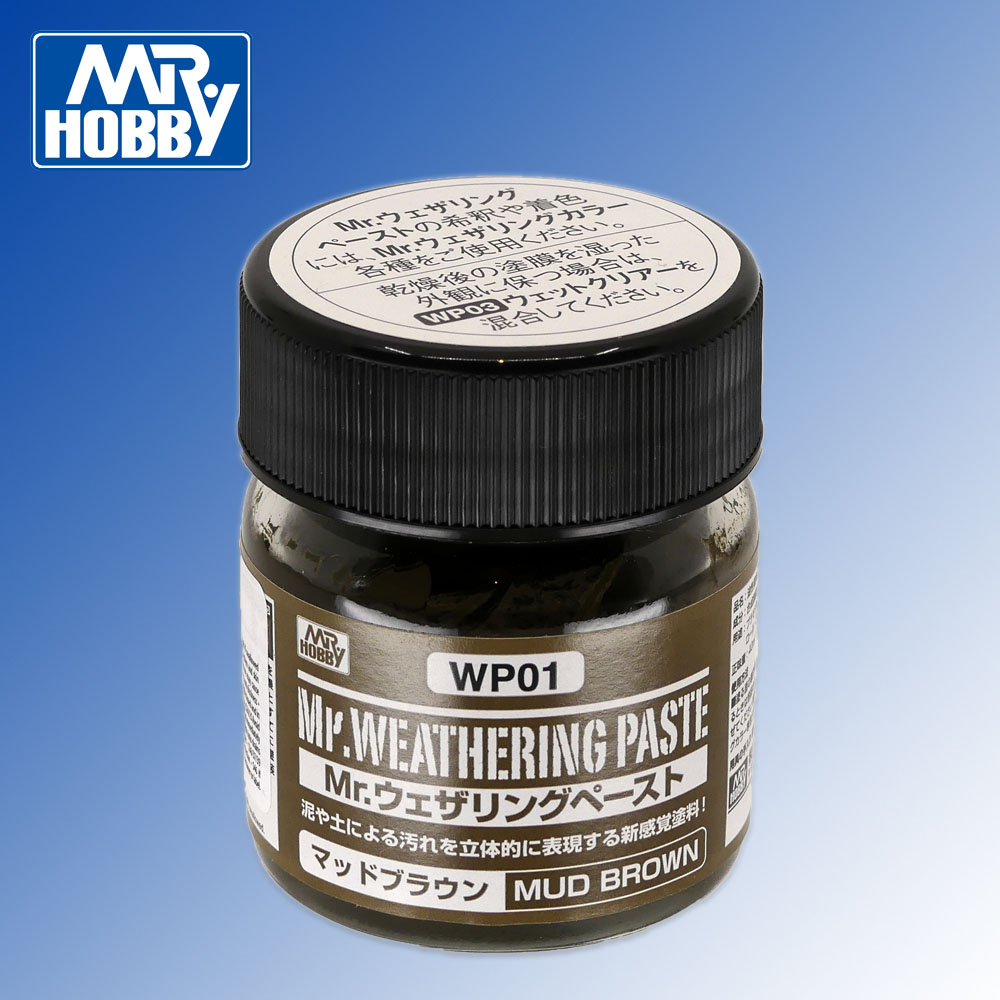Mr Weathering Paste Mud Brown 40ml