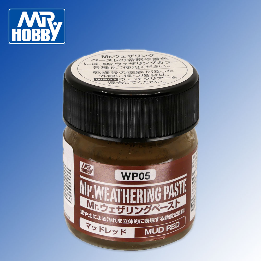 Mr Weathering Paste Mud Red 40ml