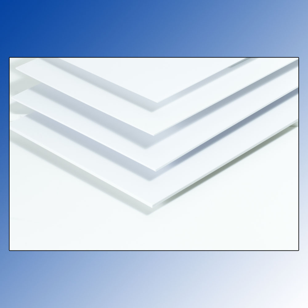 1.50mm White Styren Sheet (194x320mm) Maquett