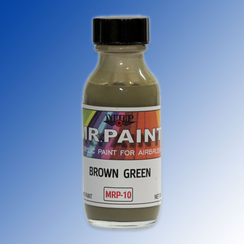 MRP-010 Brown Green ČSN 2250 30ml