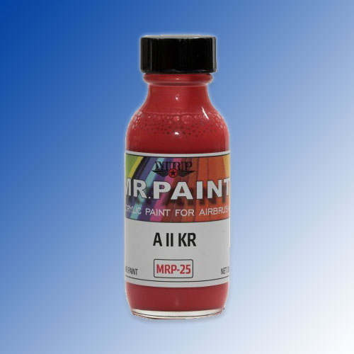 MRP-025 A II KR Red 30ml