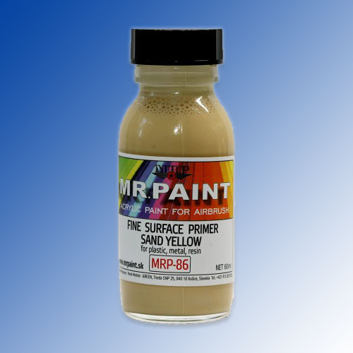 MRP-086 Fine Surface Primer Sand Yellow 60ml