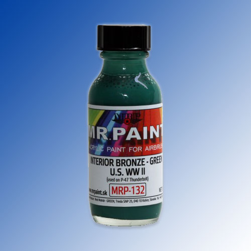 MRP-132 Interior Bronze Green (used on P-47 Thunderbolt) 30ml